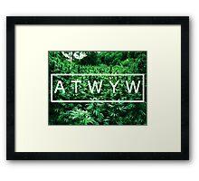 ATWYW - Trees Framed Print