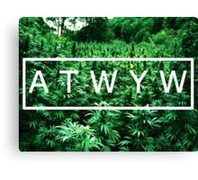 ATWYW - Trees Canvas Print
