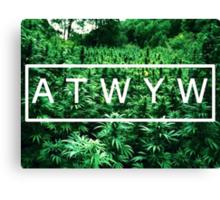 ATWYW - Trees Canvas Print
