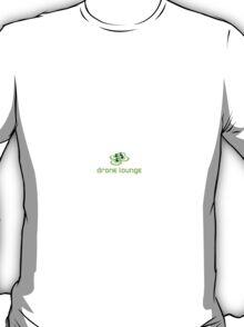 Drone Lounge - green logo T-Shirt