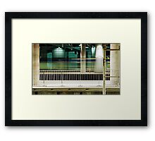 The Last Train Home Framed Print