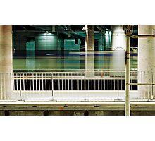 The Last Train Home Photographic Print