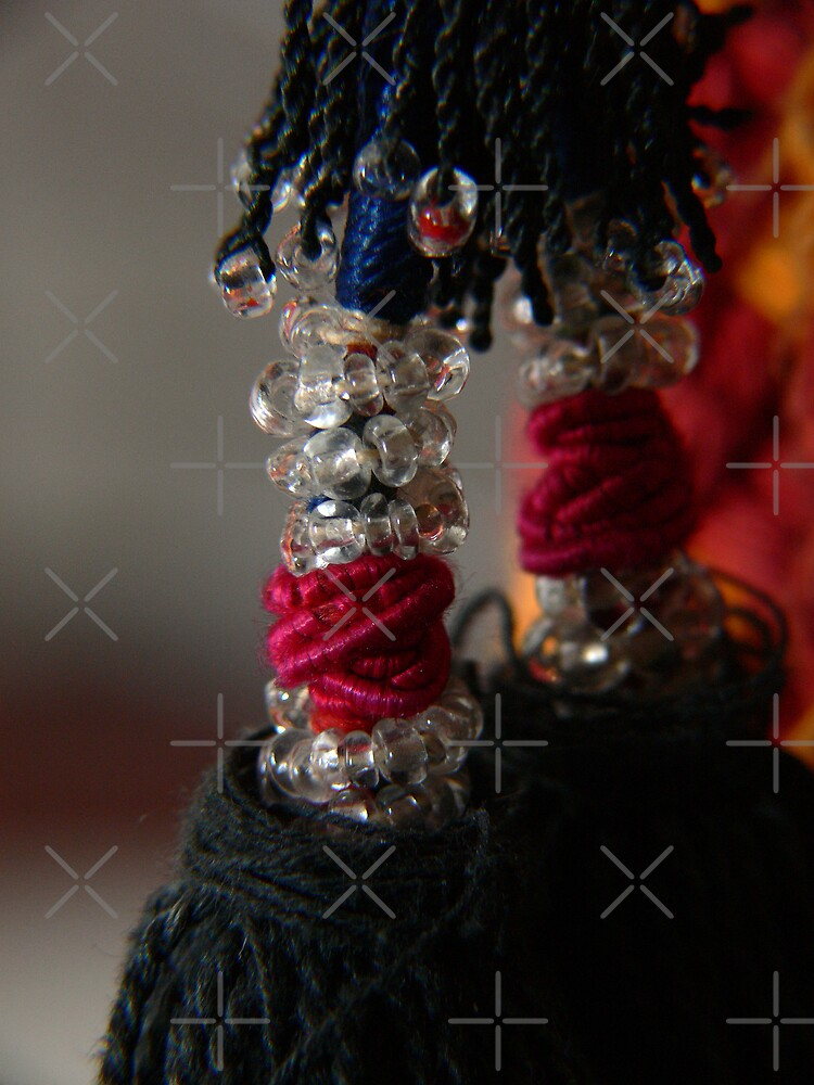 Beads and braids by Sandra Chung