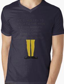 Elf Food Mens V-Neck T-Shirt