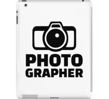 Photographer iPad Case/Skin