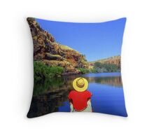 Chamberlain Gorge WA Australia Throw Pillow