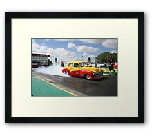Smokin' FX Framed Print