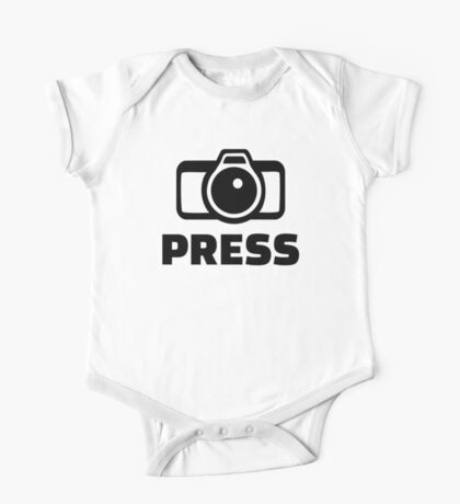 Press Camera One Piece - Short Sleeve