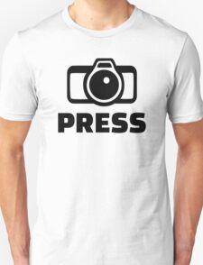 Press Camera T-Shirt