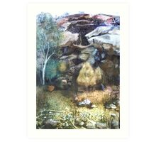Landscape - Goulburn River National Park Art Print