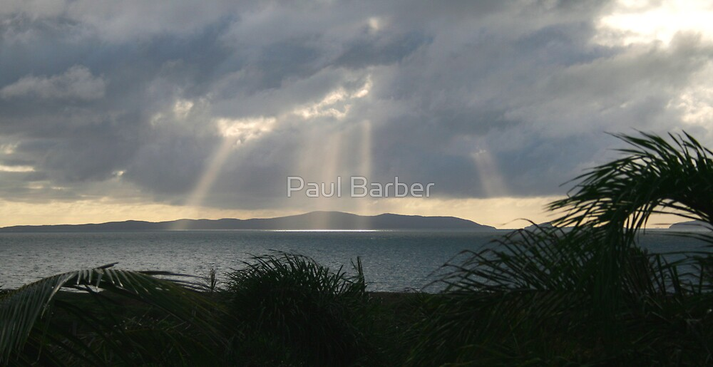Lights on the islands by Paul Barber