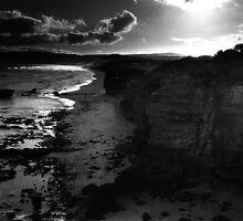 Last Light Cape Otway by Mark Higgins