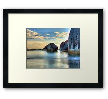 Elephant Cove - Williams Bay - Beauty at sunset. Framed Print