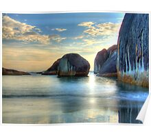 Elephant Cove - Williams Bay - Beauty at sunset. Poster
