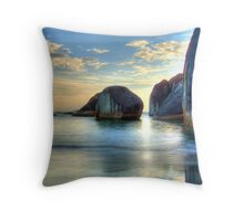 Elephant Cove - Williams Bay - Beauty at sunset. Throw Pillow