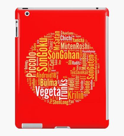Dragon Ball chars iPad Case/Skin
