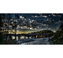 Como Bridge Photographic Print