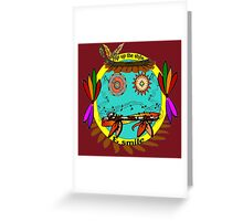 Hip Up The Style & Smile Greeting Card