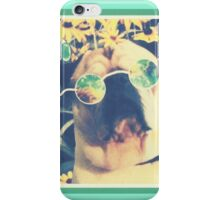 Hippie Pug Gets Deep iPhone Case/Skin