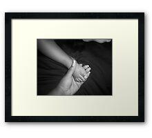 """""""Tender Touch"""" Framed Print"""