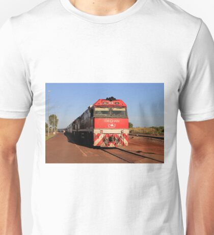 The Ghan train locomotive, Darwin Unisex T-Shirt