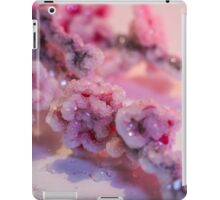 Pink Cherry Blossoms Crystallized  iPad Case/Skin