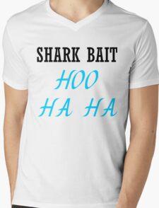 SHARK BAIT HOO HA HA Mens V-Neck T-Shirt