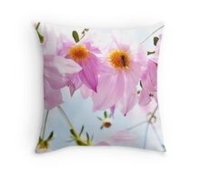 Four if by Flower Throw Pillow