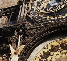 Prague Astronomical Clock by Rhys Allen