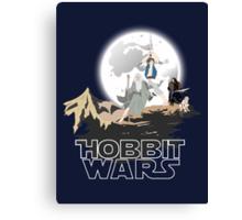 Hobbit Wars Canvas Print