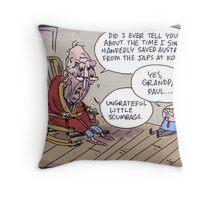 Keating returns! Throw Pillow