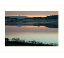 Pastel landscape  Art Print