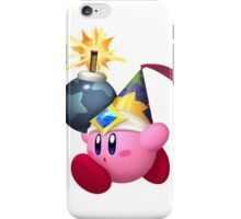 Bomb Kirby iPhone Case/Skin