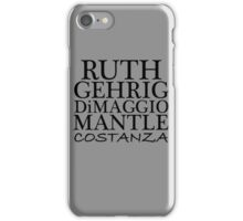 COSTANZA YANKEES iPhone Case/Skin