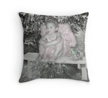 Too Little To Fly Throw Pillow