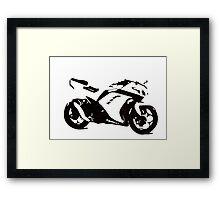 Ninja Pen & Ink Framed Print