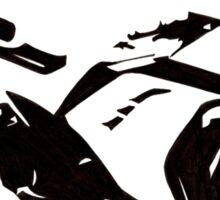 Ninja Pen & Ink Sticker
