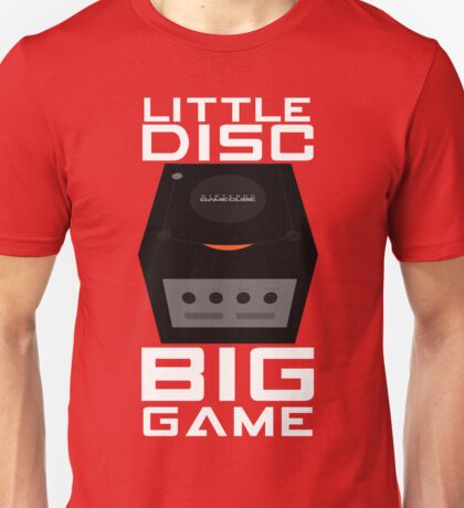 Little Disc, Big Game Unisex T-Shirt