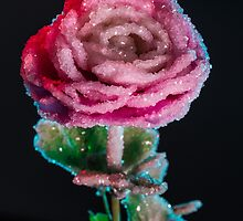Crystallized Rose Flower by elenakulikova