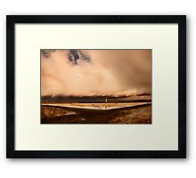 Purification Plant Framed Print