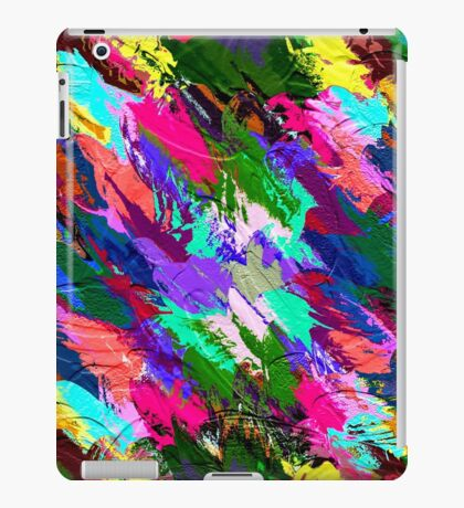 Abstract Acrylic Hand Painted Background                                       iPad Case/Skin