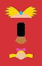 Minimalist Hey Arnold by Adam Grey