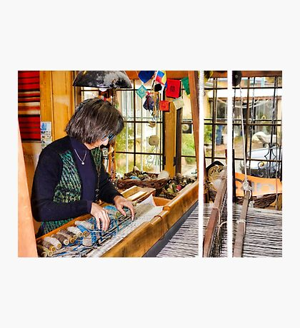 Weaving Perfection in Chimayo Photographic Print