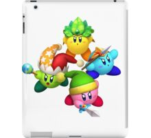 Four Kirbys iPad Case/Skin