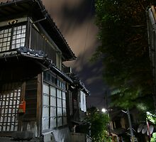 Kyoto backstreet by Heather