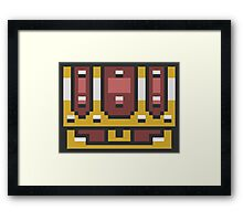 A Link To The Past Chest Framed Print