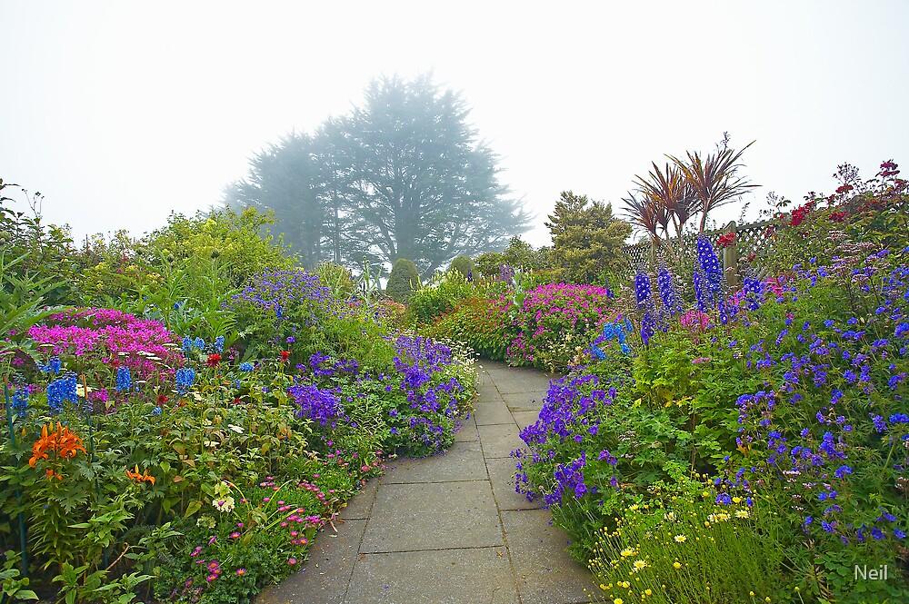 Misty Lanarch Garden by Neil
