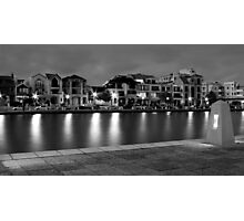 Waterfront at Dusk Photographic Print