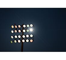 Beneath Friday Night Lights Photographic Print