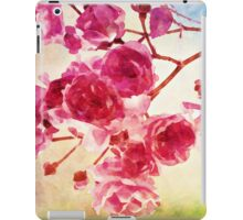 Cherry blossom water color iPad Case/Skin